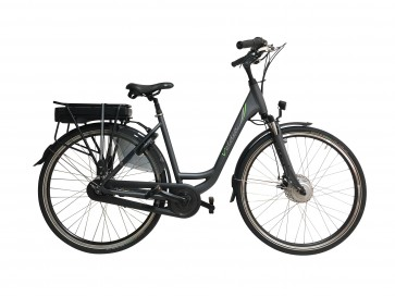 Veldia Comfort Holland E-bike antraciet - 49 cm