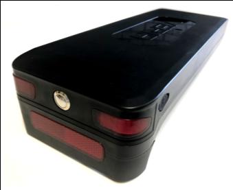 VERIA 420 LONG LIFE bagagedrager accu 21 Ah (756Wh), 36V  - zwart