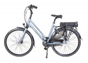 Veldia City E-bike grijsblauw - 49 cm