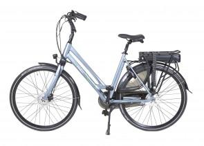 Veldia City E-bike grijsblauw - 54 cm