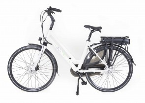 Veldia City E-bike wit - 49 cm