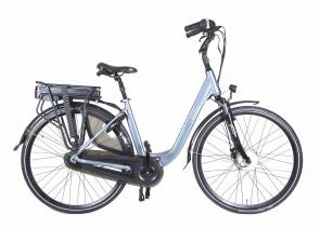 Veldia Comfort E-bike grijsblauw - 49 cm