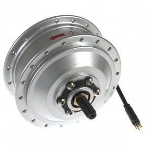 Voorwielmotor V-brake/ schijfrem 295 RPM - zilver